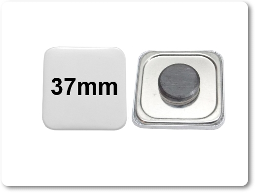 37x37mm Button als Tafelmagnet