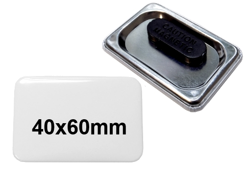 40x60mm Button mit Textilmagnet