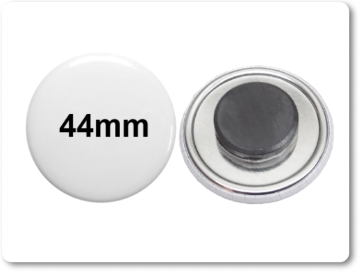 44mm Button als Tafelmagnet