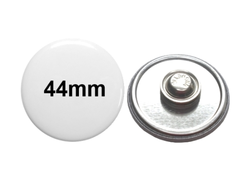 44mm Button mit Textilmagnet