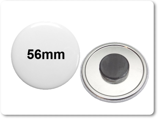 56mm Button als Tafelmagnet
