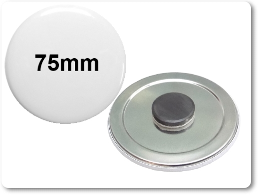 75mm Button als Tafelmagnet