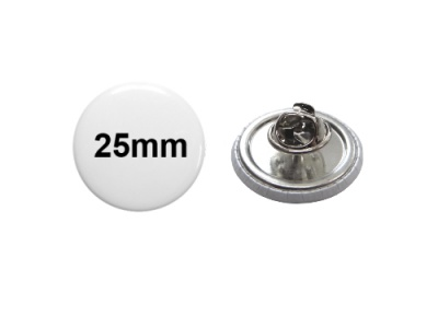 25mm Button mit Pin