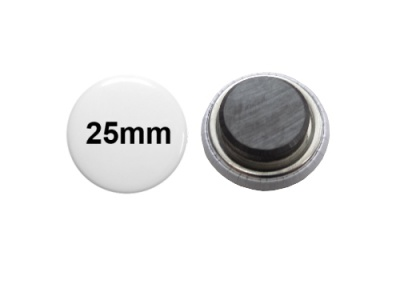 25mm Button mit Tafelmagnet