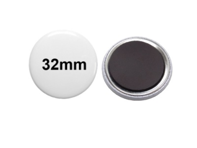 32mm Button mit Softmagnet