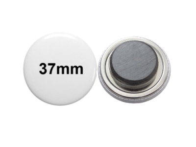 37mm Button mit Tafelmagnet