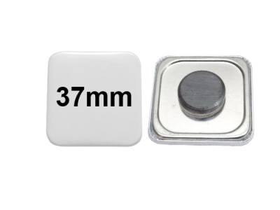 37x37mm Button mit Tafelmagnet