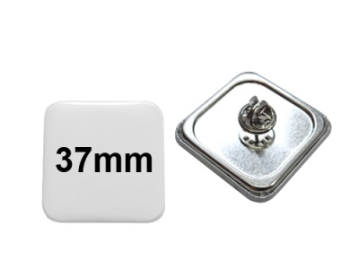37x37mm Button mit Pin