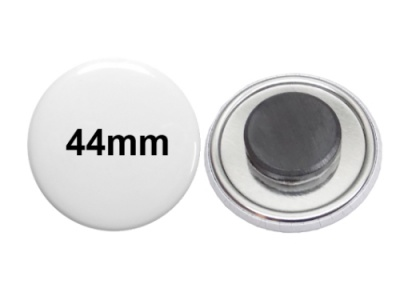 44mm Button mit Tafelmagnet