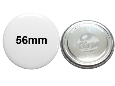 56mm Button mit Neodymmagnet