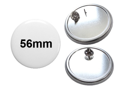 56mm Button mit Pin