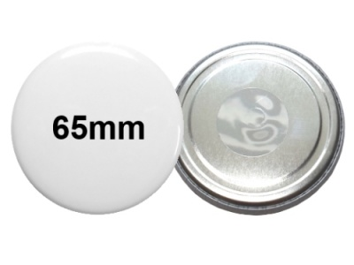 65mm Button mit Neodymmagnet