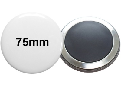 75mm Button mit Softmagnet