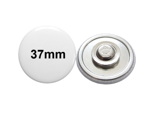37mm Button mit Textilmagnet