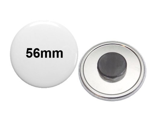 56mm Button mit Tafelmagnet