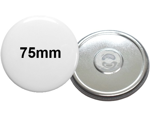 75mm Button mit Neodymmagnet